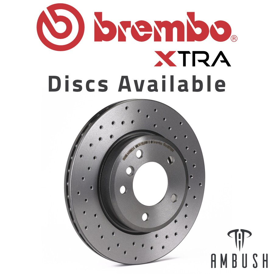 Brembo Xtra P06096X Brake Pad For BMW 2 Series 330d 340i