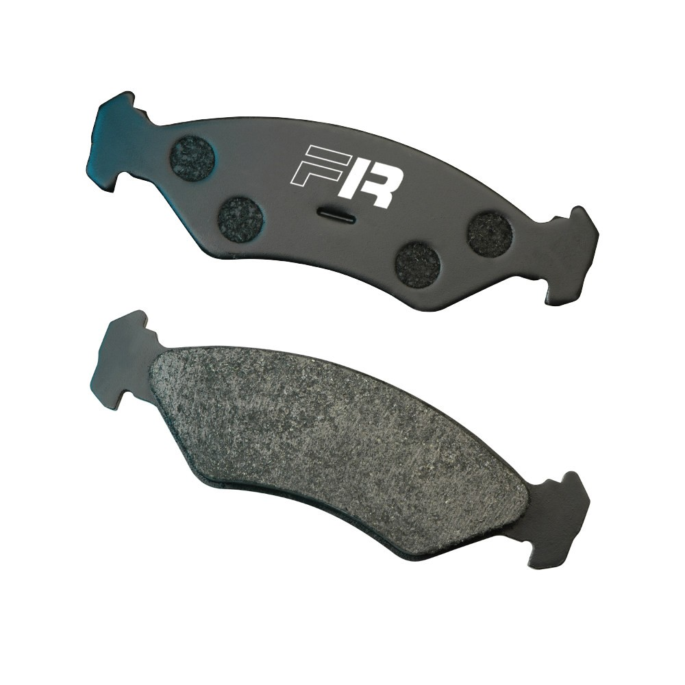 Black Diamond Predator Brake Pads Audi A3 VW Golf Skoda Octavia Front Set