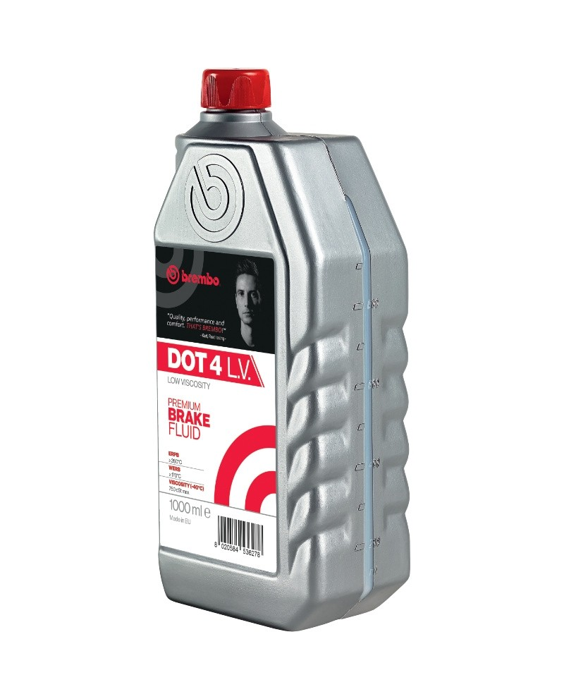 Brembo Brake Fluid DOT 4 Low Viscosity 1000ml