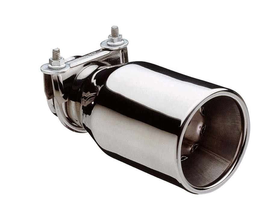 Silver Exhaust Pipe Tip