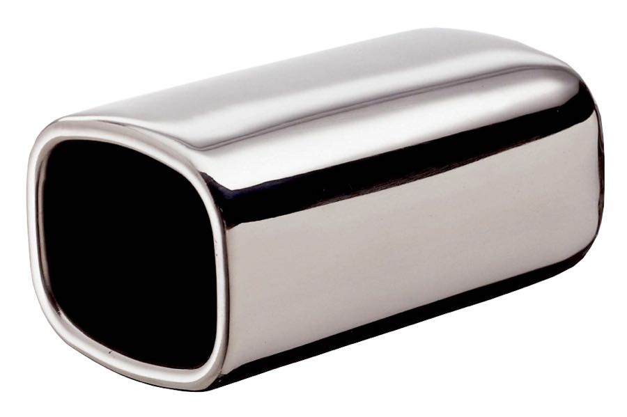 Exhaust Tip With Square Ends
