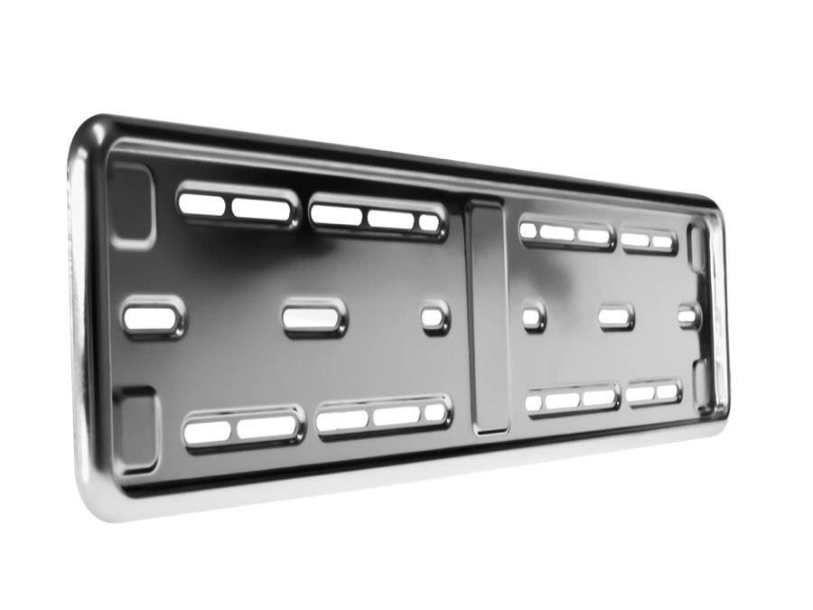 Number Plate Holder For UK Number Plates Stainless Steel