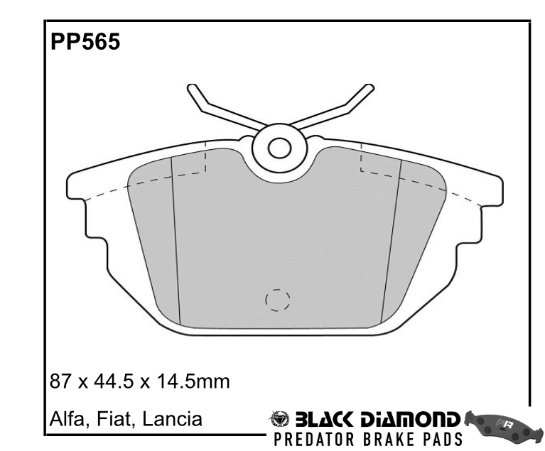 Black Diamond Predator Brake Pads PP565