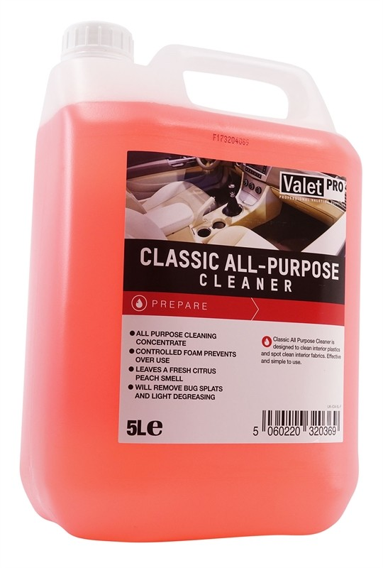 ValetPRO Classic All Purpose Cleaner 5 Litres