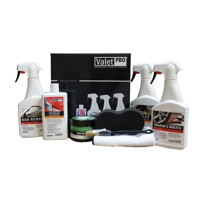 ValetPRO Car Cleaning Kit Arrive & Shine Exterior