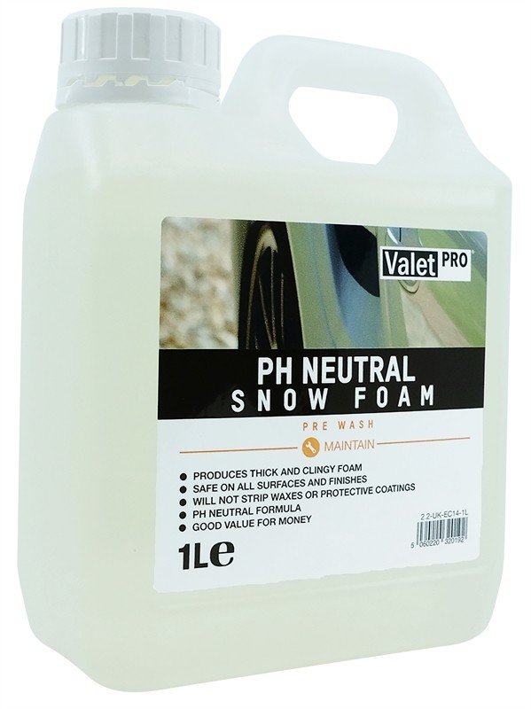 ValetPRO pH Neutral Snow Foam 1 Litre