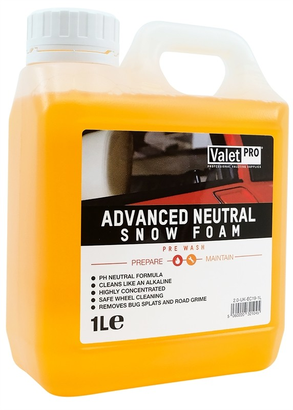 ValetPRO Advanced Neutral Snow Foam 1 Litre