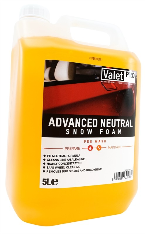 ValetPRO Advanced Neutral Snow Foam 5 Litres