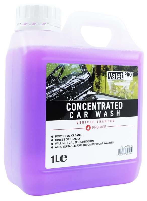 ValetPRO Concentrated Car Wash 1 Litre