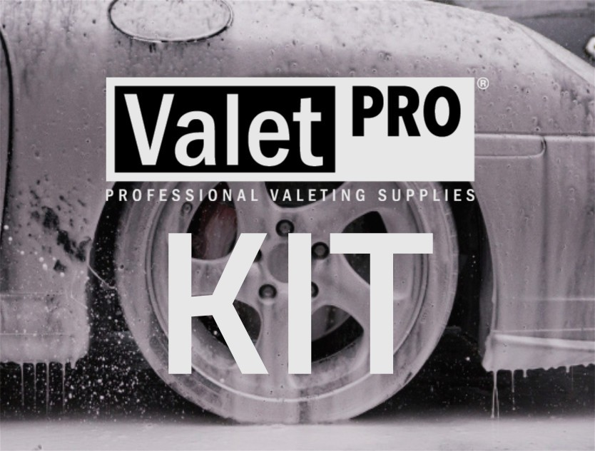Paint Clean & Protection Yellow Valeting Kit