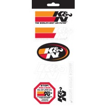 K&N Decal Sticker Sheet 89-11831
