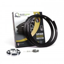 Alloygator Alloy Wheel protectors -Black (SINGLE)