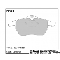 PP304 Black Diamond Predator Brake Pads