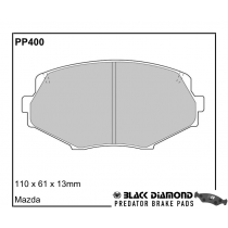Black Diamond Predator Brake Pads Mazda MX-5 Front Set