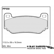 Black Diamond Predator Brake Pads Mini (BMW) Mini (-2001) Front Set