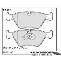 Black Diamond Predator Brake Pads BMW X3 Front Set
