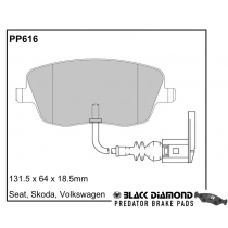 Black Diamond Predator Brake Pads Seat Cordoba Front Set
