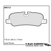 Black Diamond Predator Brake Pads Land Rover Range Rover Sport Rear Set
