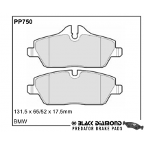 Black Diamond Predator Brake Pads BMW 1 Front Set