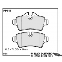 Black Diamond Predator Brake Pads Mini Mini Front Set