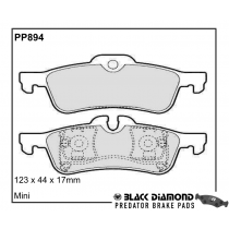 Black Diamond Predator Brake Pads Mini Mini Rear Set