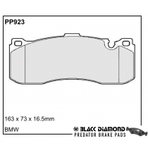 Black Diamond Predator Brake Pads BMW 1 Series (E88)(E82)07 Front Set