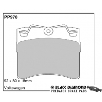PP970 Black Diamond Predator Brake Pads