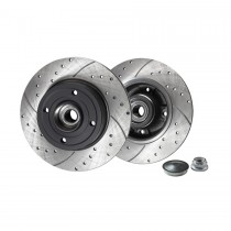 Rotinger Brake Discs Renault Trafic Rear Pair