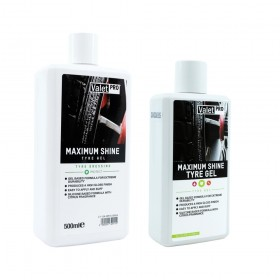 ValetPRO Maximum Shine Tyre Gel 250ml, 500ml