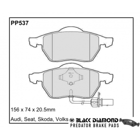PP537 Black Diamond Predator Brake Pads