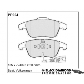 PP924 Black Diamond Predator Brake Pads