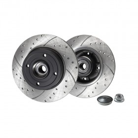 Rotinger Brake Discs Renault Megane Clio Rear Pair