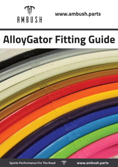 AlloyGator Fitting Instructions & Care Advice Official Booklet