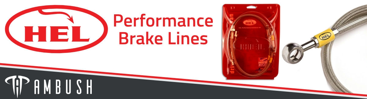 HEL Performance Brake Lines Banner